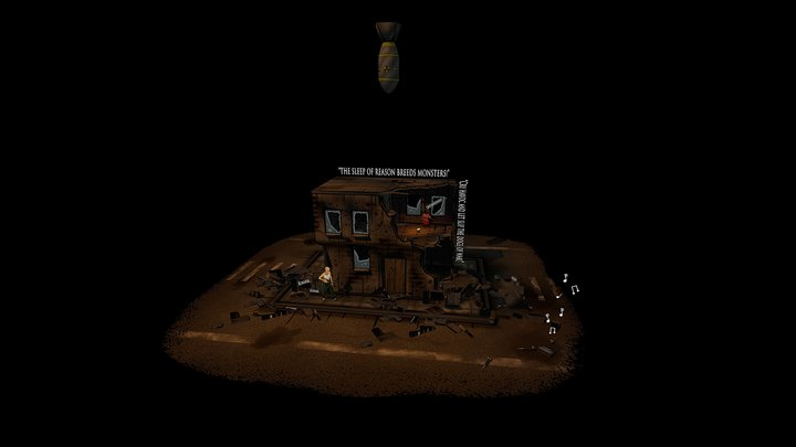 From a War  3D Model