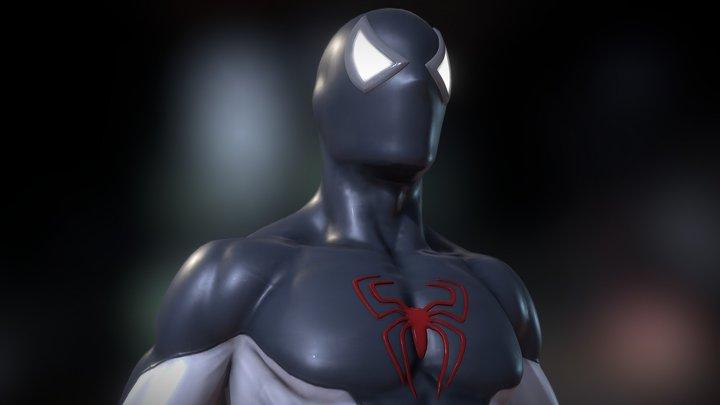 Spider-Man T-Pose 3D Model