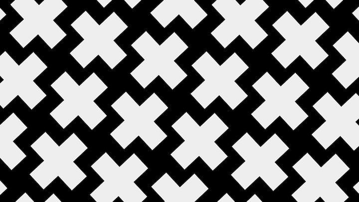 impossible crosses illusion 3D Model