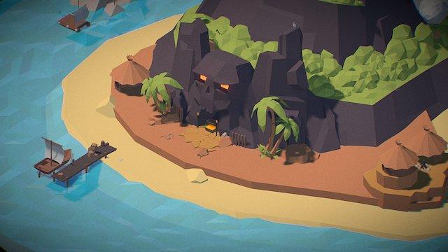 Skull Island 3D Model