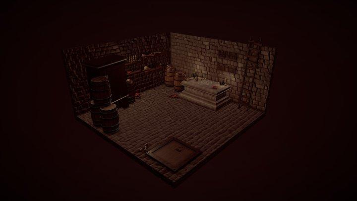 Storeroom Necromancer 3D Model