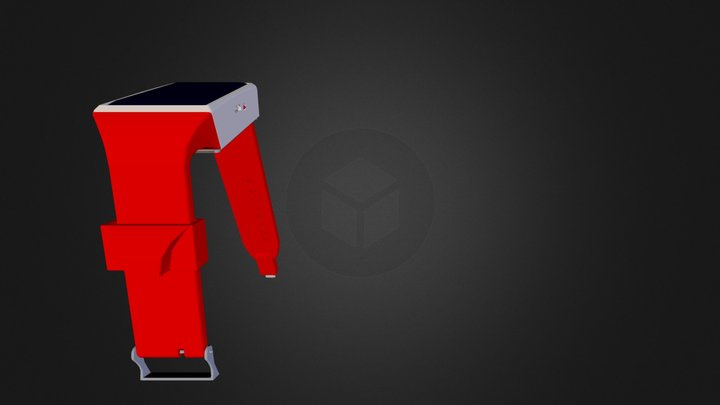 booster_red 3D Model