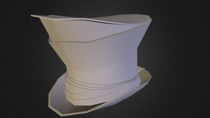 Spy Hat V2 3D Model