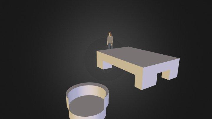 40蔡季吟 3D Model