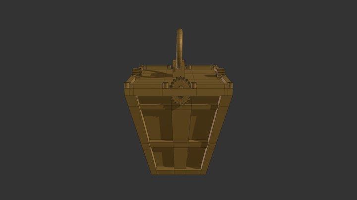 Christmas lantern 2018 3D Model
