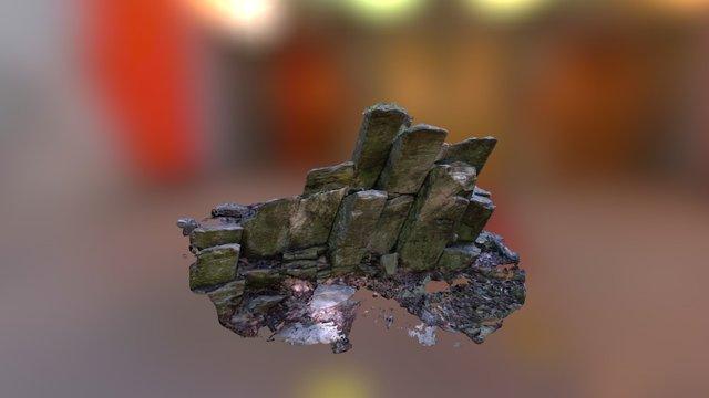 Limberlost Trail Basalt Columns 3D Model