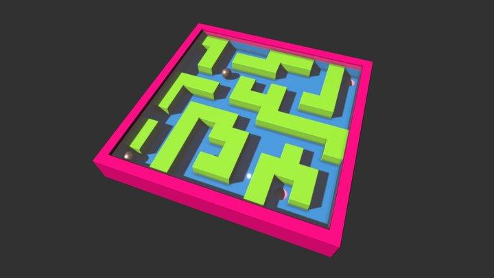 Toy Maze 3D Model