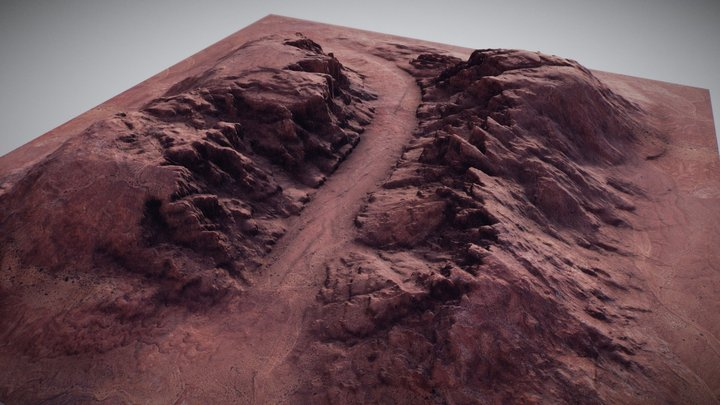Brushify.io - Canyon 02 3D Model