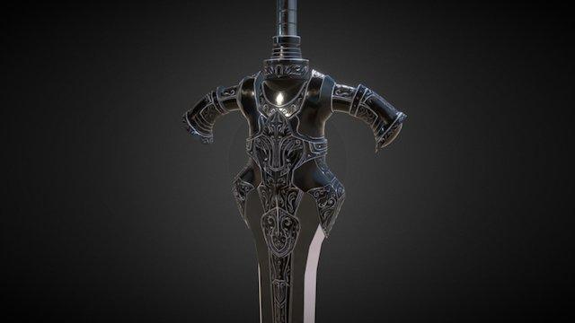 Artorias Sword (remastered) 3D Model