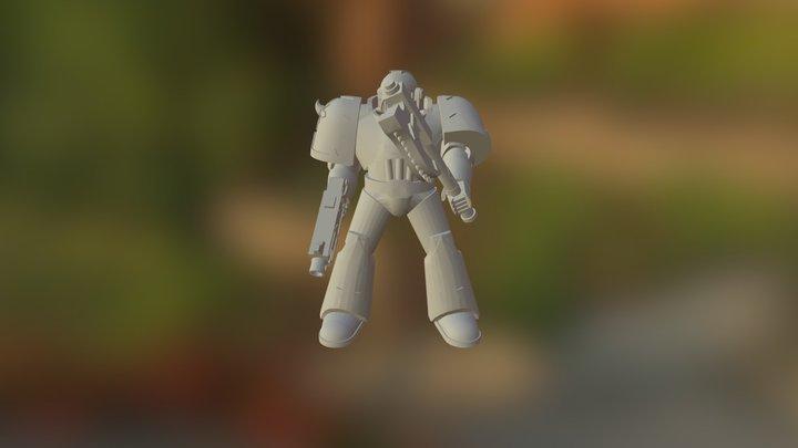 spacemarien 3D Model