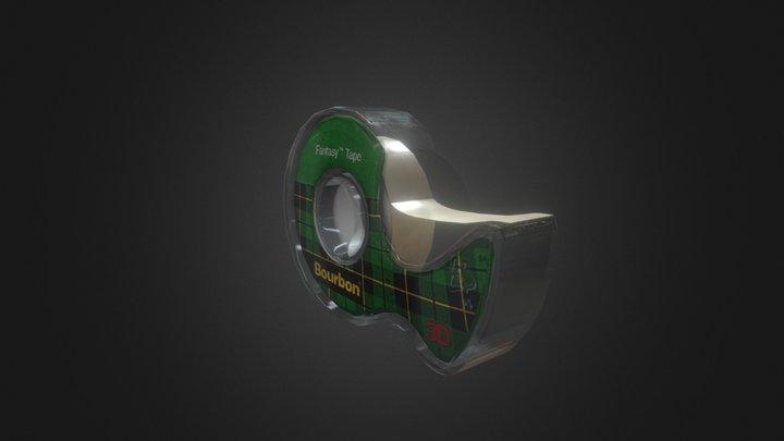 model_bourbontape 3D Model