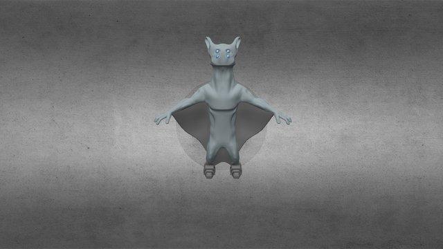 Alien Concept 3D Model