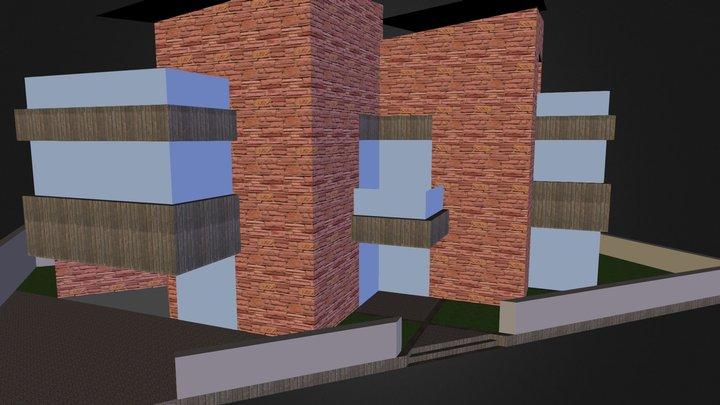 Sridharan Residence Chennai India 3D Model