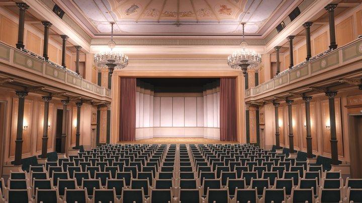 Konzerthaus Berlin: Small Hall 3D Model