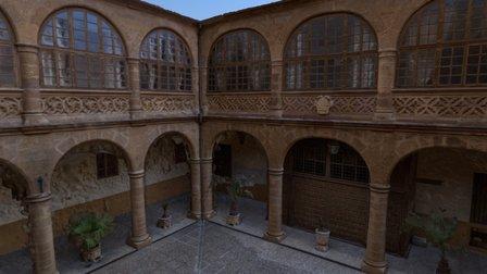 HOSPITAL DE LA PIEDAD DE BENAVENTE. 3D Model