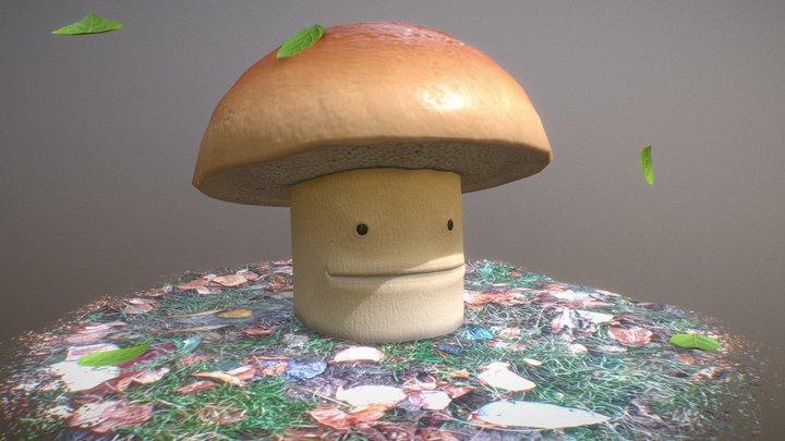 Big Mushroom 3D Model