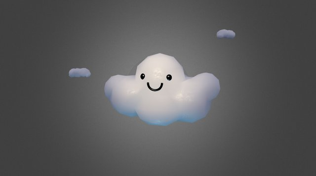 Sparkle Cloud of Ultra Cuteness 3D Model