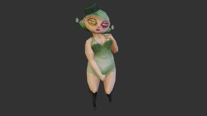 Studio Killers - Cherry 3D Model