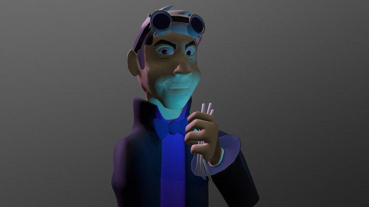 Steampunk Alex [Cow Chop] 3D Model