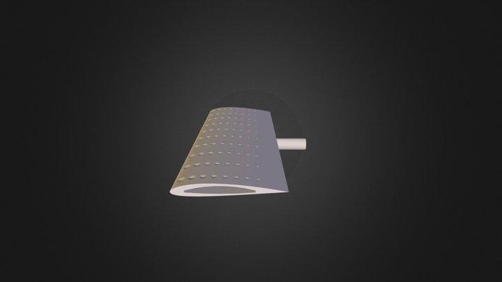Dimpled NACA 2412  3D Model