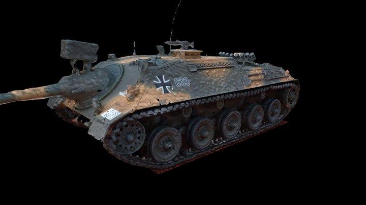 KaJaPa [3D scan from scale model] V2 3D Model