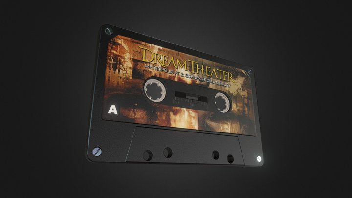 Dream Theater Tape 3D Model
