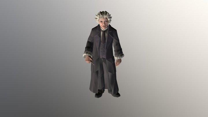 Garrick Ollivander - Olivander Shop 3D Model