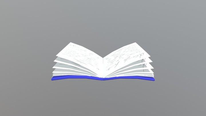 Libro Abierto 3D Model