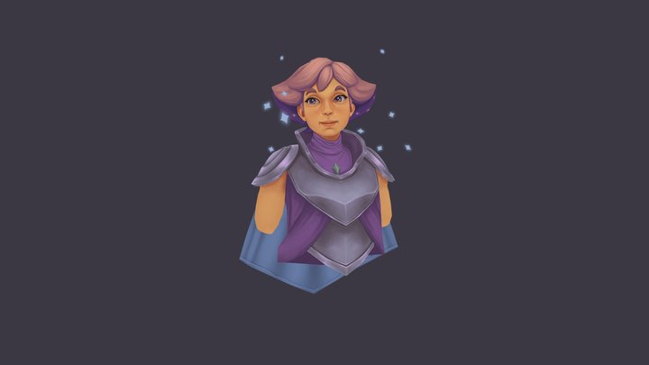 She-Ra's Glimmer 3D Model