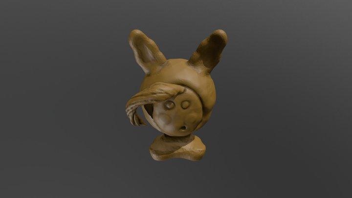 Adventure (Time) - SculptJanuary2018 Day 7 3D Model