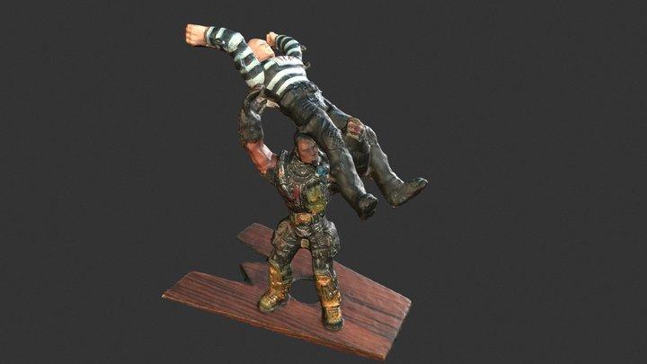 Toy soldier 3D Model