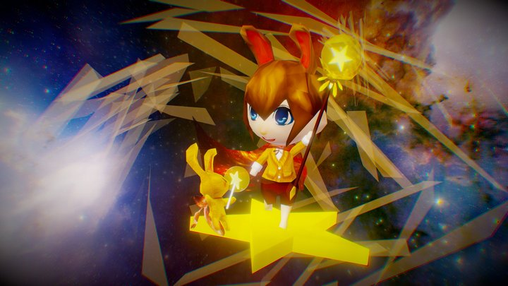 Star Magician3 0 3D Model