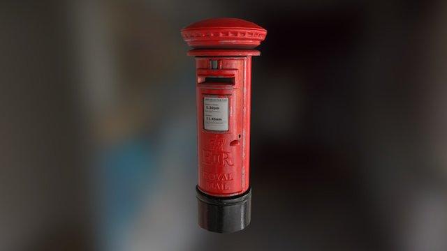 Postbox 3D Model