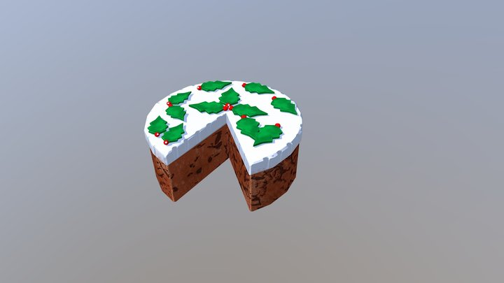 Fruitcake 3D Model