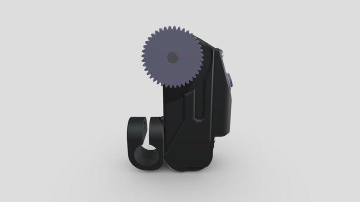LOLED Virtual Glassmark I Lens Encoder 3D Model