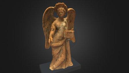 Greek terracotta statuette of Nike 3D Model
