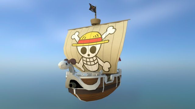 One Piece -Going Merry 3D Model