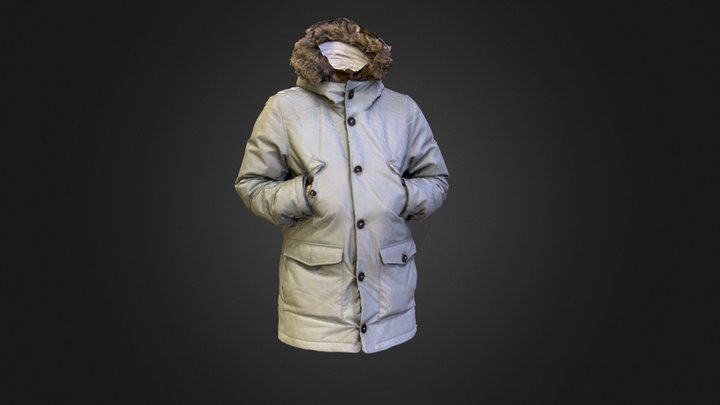 EXTRA Saint Petersburg Jacket 3D Model
