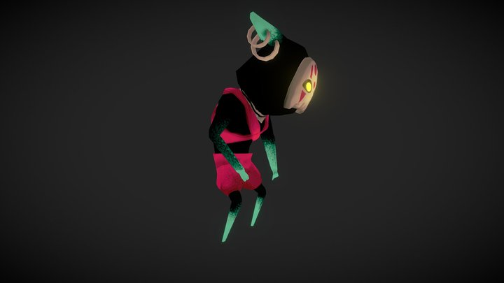 Enemy for  a game 3D Model