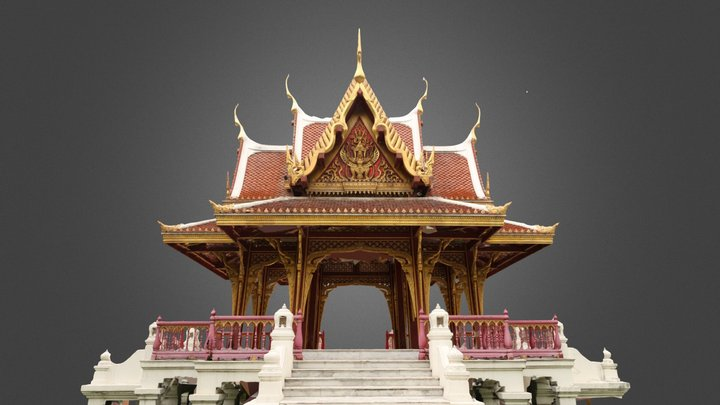Sala Thai at Thailand Cultural Center (Hi res) 3D Model