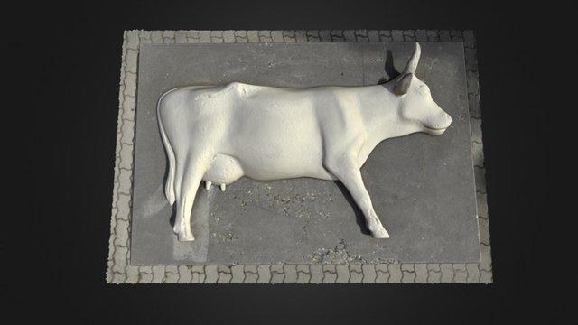 Cow statue 3D Model