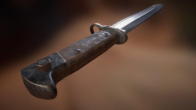 Bayonet 3D Model