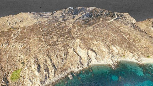 Mykonos beach in Greece!!! 3D Model