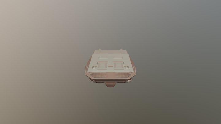 Blade Car 3D Model