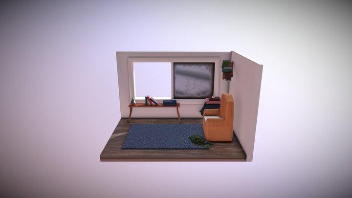 Gromit Scenario Empty 3D Model