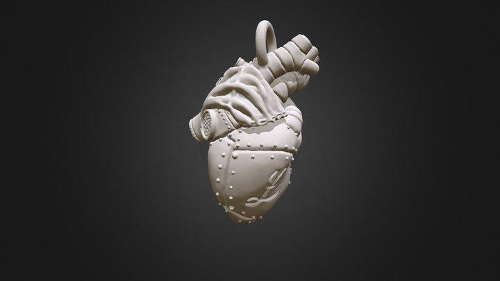 Steampunk Heart 3D Model