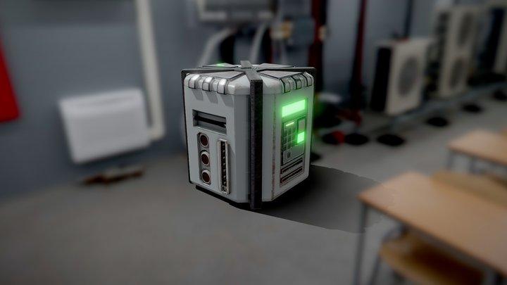 SCI-FI_box 3D Model