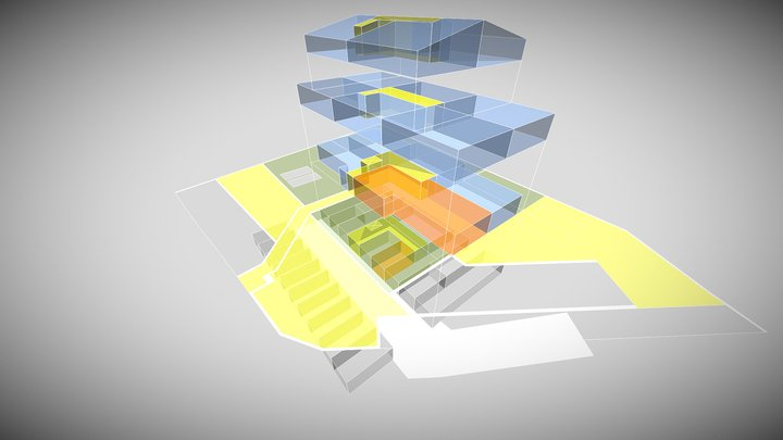 Appartamento Noventa Padovana Edificio 3D Model