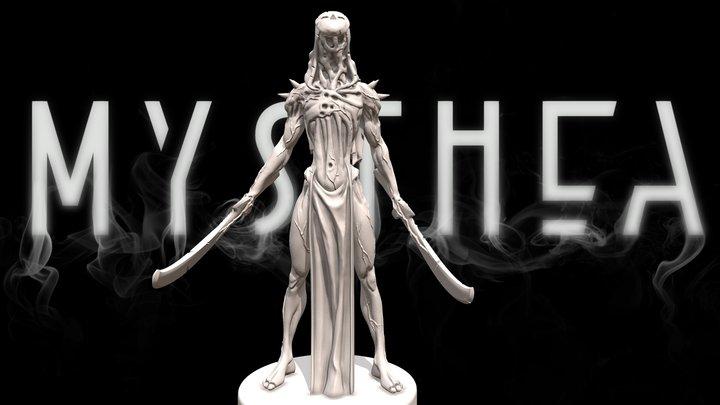 Boulron, the Reaper - Mysthea 3D Model