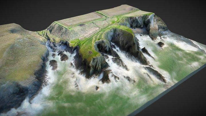 Caer Bentir Porth y Rhaw - Chwefror 2019 3D Model